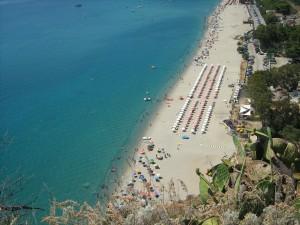 la spiaggia calabrese